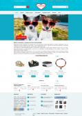 Адаптивный интернет-магазин аксессуаров для питомцев